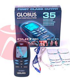 Equipamiento electroestimulador Globus Duo Pro