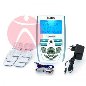 Equipamiento Electroestimulador Globus Duo Tens