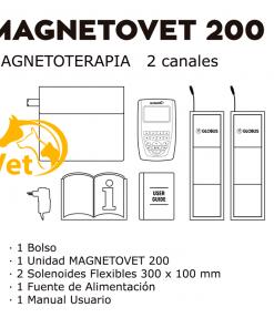 equipo magneto veterinaria