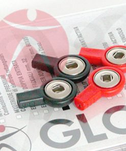 Kit 4 Adaptadores Clip Globus