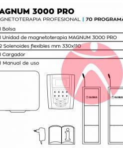 Dotación Magnetoterapia Globus Magnum 3000 Pro